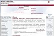 Website Anwalt Bernhard Schulte - Ihr Rechtsanwalt in Frechen.