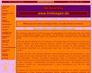 Bild Webseite Lichtsegen - Reiki-Meister Einar Stier Göttingen