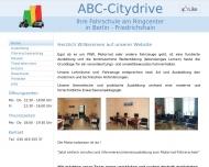 Bild Webseite Fahrschule ABC-Citydrive am Ring Center Berlin