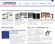 Bild Webseite starflasher Berlin