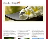 Website Monika Klingel, Omega. Zentrum