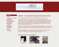 Website LOMAX-P Leckage-Ortung