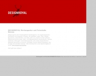 Bild Webseite Designroyal Dessau-Roßlau