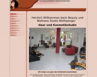 Website Beauty & Wellness Studio Wolfsperger