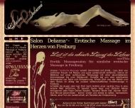 Bild Webseite Salon Deliama Freiburg im Breisgau