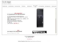 Website k-d-sign