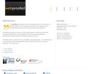 Website webproofed