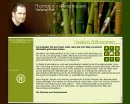 Bild Webseite Heilpraktiker Thomas v. Stockhausen Düsseldorf