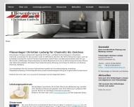 Bild Webseite  Lichtenstein/Sachsen