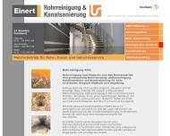Bild Kanalsanierung & Rohrreinigung EINERT
