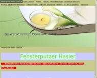 Website Fensterreinigung Hasler