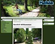 Website Hable Garten- Landschafts- u. Pflasterbau (Meisterbetrieb)
