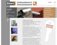 Bild Webseite Stephan Einert Köln