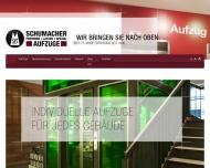 Seit 1936 in K?ln - Schumacher Aufz?ge
