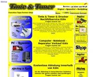 Website Druckerzubehör Tinte Toner Köln