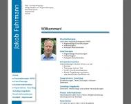 Website Praxis für Therapie, Supervision, Coaching - Heilpraktiker für Psychotherapie, Dipl. Soz.-Päd. Jakob Fuhrmann