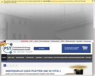 Website PST Pulverbeschichtung und Stahlelemente