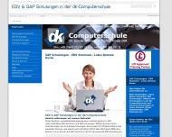 Website dk-Computerschule - Dr. Gunnar Dillmann & Thomas Kriebs