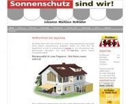Website soga-bau.  Fachbetrieb im Rollladen- und Jalousiebau