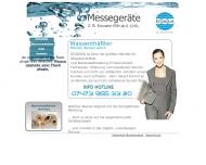 Website ECOAQUA Wassertechnik