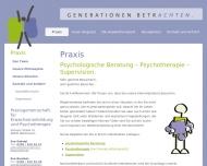 Website Eva Gabriel, Heilpraktikerin (Psychotherapie)