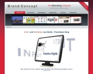 Bild Webseite Brand-Concept Berlin
