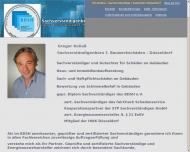 Website Sachverständigenbüro f. Bauwerkschäden