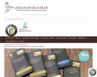 Website chocolats-de-luxe.de