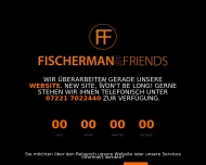 Website FISCHERMAN&FRIENDS