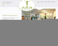 Bild Webseite Institut für Cosmetic & Anti-Aging Silke Risch München