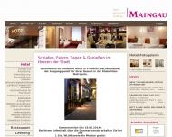 Bild Webseite MAINGAU Hotel - Event - Tagung - Catering Frankfurt
