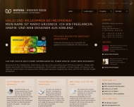 Website MEOPHENIA | Design with Passion