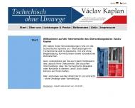 Bild Václav Kaplan -  beeidigter Übersetzer für die tschechische Sprache