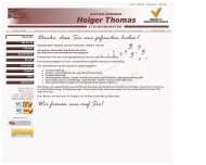 Website Holger Thomas * Steuerberater