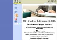 Bild EEC Übersetzungen Polnisch Kulaszewski