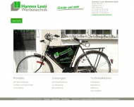 Bild Webseite Hannes Lesti Werbetechnik Dachau