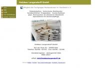 Bild Webseite Holzbau Langendorff Köln