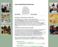 Website Team Zukunftswerkstatt Köln - Vom Wollen zum Handeln