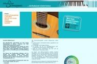 Bild Webseite Musikschule Schneegans Berlin