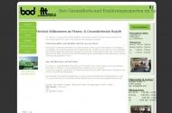 Website Bodyfit Fitness und Gesundheitsclub Luckau