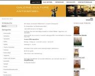 Bild Webseite Antiquitäten Konstanz