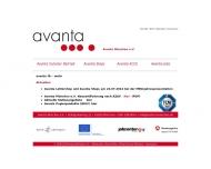 Website avanta München e. V.