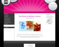 Bild Webseite Parfümerie Mallach Köln