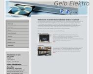 Bild Webseite  Callbach