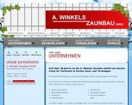 Website A. Winkels Zaunbau