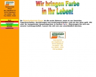 Bild Webseite Elsner Siegfried Malerbetrieb Gleiritsch