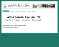 Bild Webseite Koppen Alfred Freier Garten- und Landschaftsarchitekt Stuttgart