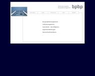 Website Uwe Butzke Planungsbüro Gesellschaft für Planung und Bautechnik