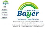 Fleisch-Box Bayer Namenhafter ein Lieferant f?r die Gastronomie undGro?k?chen