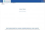 Bild Webseite Tanger-Apotheke Tangerhütte